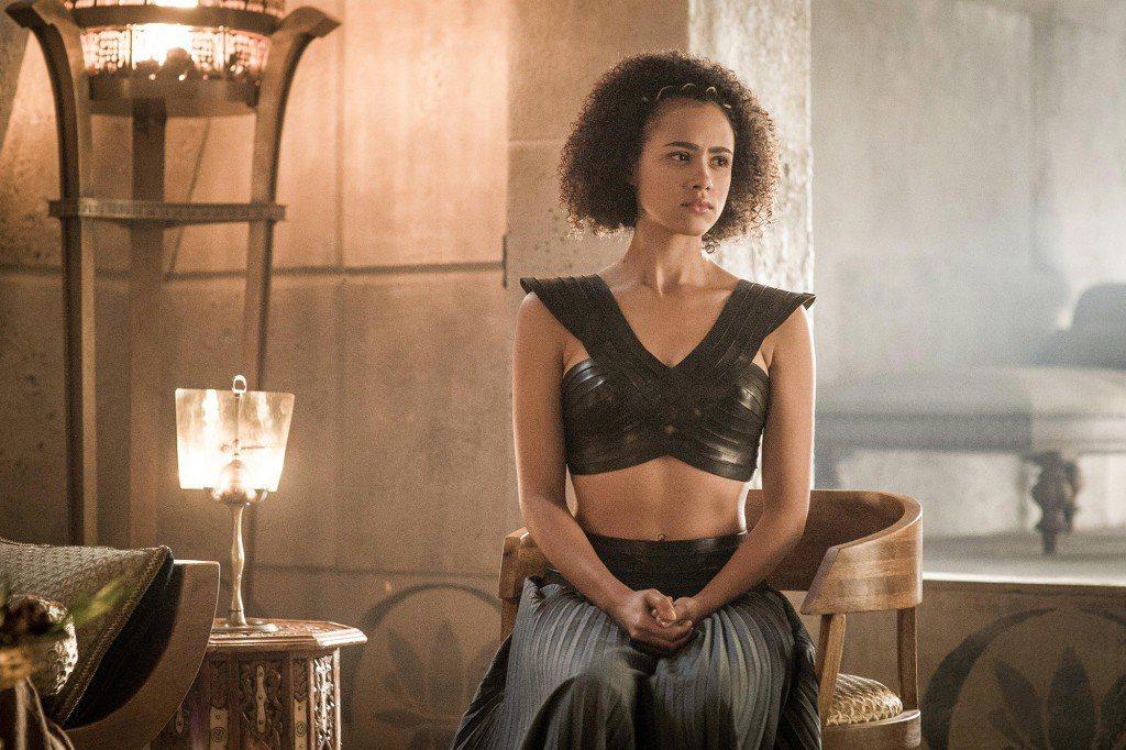 娜塔莉伊曼紐曾為「冰與火之歌:權力遊戲」拍了裸戲。圖/摘自HBO