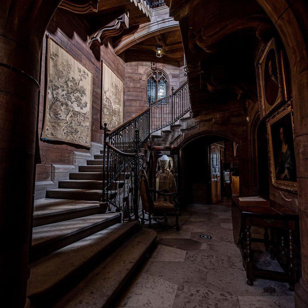 班伯古堡內有不少靈異傳說,雖然歷史悠久,卻也有些詭異的氣氛。圖/摘自IG
