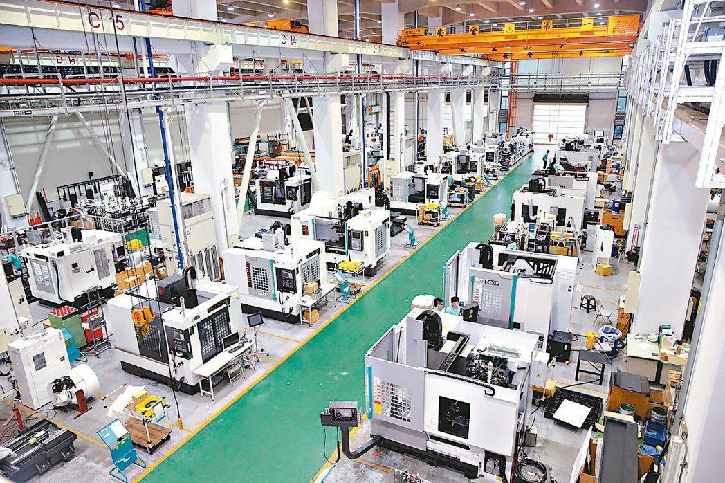 經濟部統計處公布4月工業生產指數為122.8。(本報系資料庫)