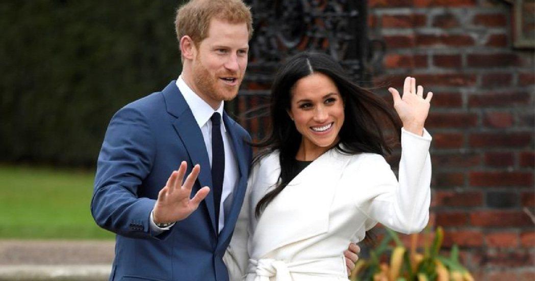 哈利與梅根的婚姻雖被很多英國人唱衰,卻有電視名命理師看好。圖/路透資料照片