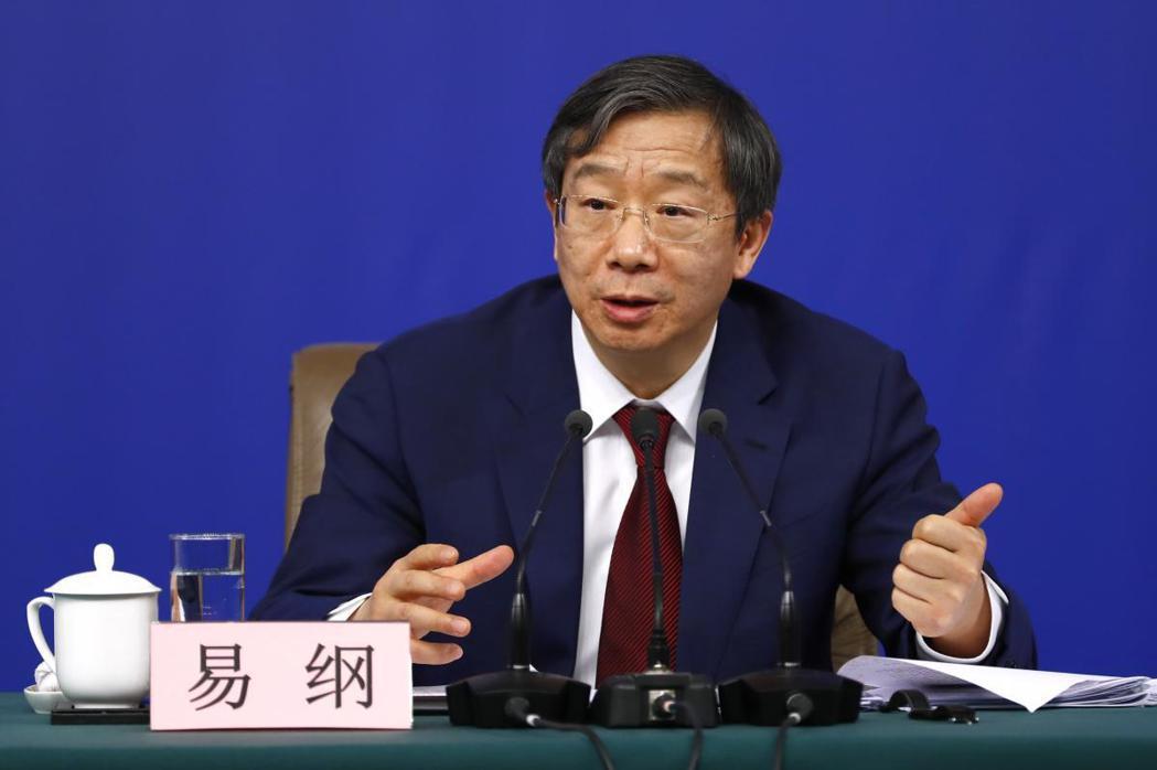 中國人民銀行行長易綱。(中新社)