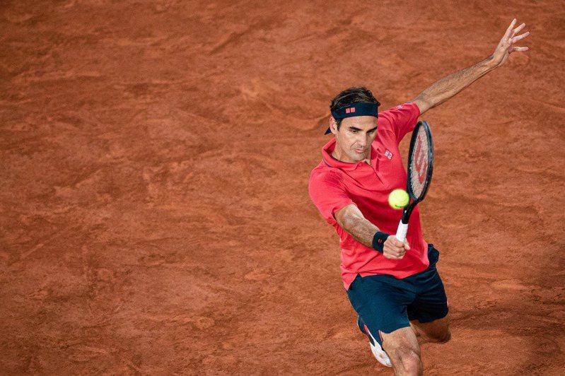 費德勒(Roger Federer)。 新華社
