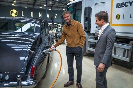投資事業再加一 貝克漢收購英國老車電動化公司Lunaz 10%股份!