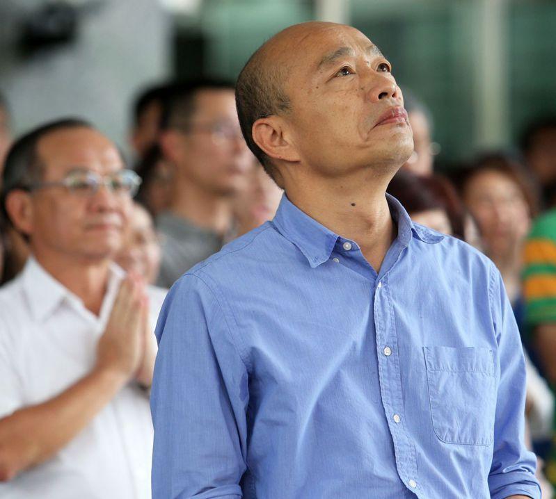 今天是高市前議長許崑源逝世一年的忌日,也是高雄前市長韓國瑜遭罷免滿一年的日子。圖/本報資料照片