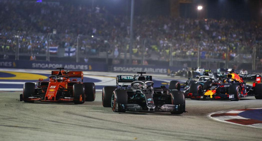 F1新加坡大獎賽已經連續兩年因為疫情取消。 摘自F1