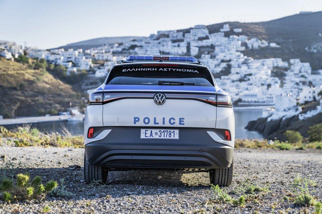 VW ID.4將成為愛琴海小島Astypalea的公部門用車。 圖/Volksw...