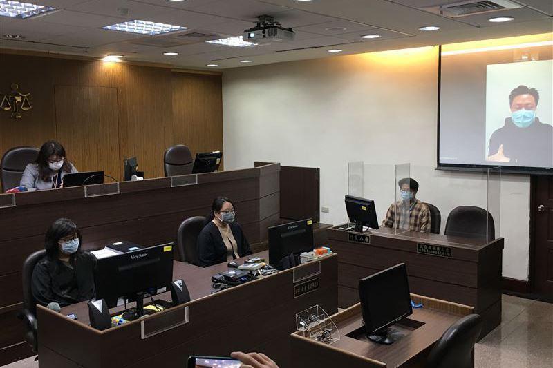 唯有建構完善的配套措施,始能發揮「特別條例」草案擴大適用遠距訊問之立法意旨,讓臺灣司法走向真正的科技法庭。 圖/聯合報系資料照