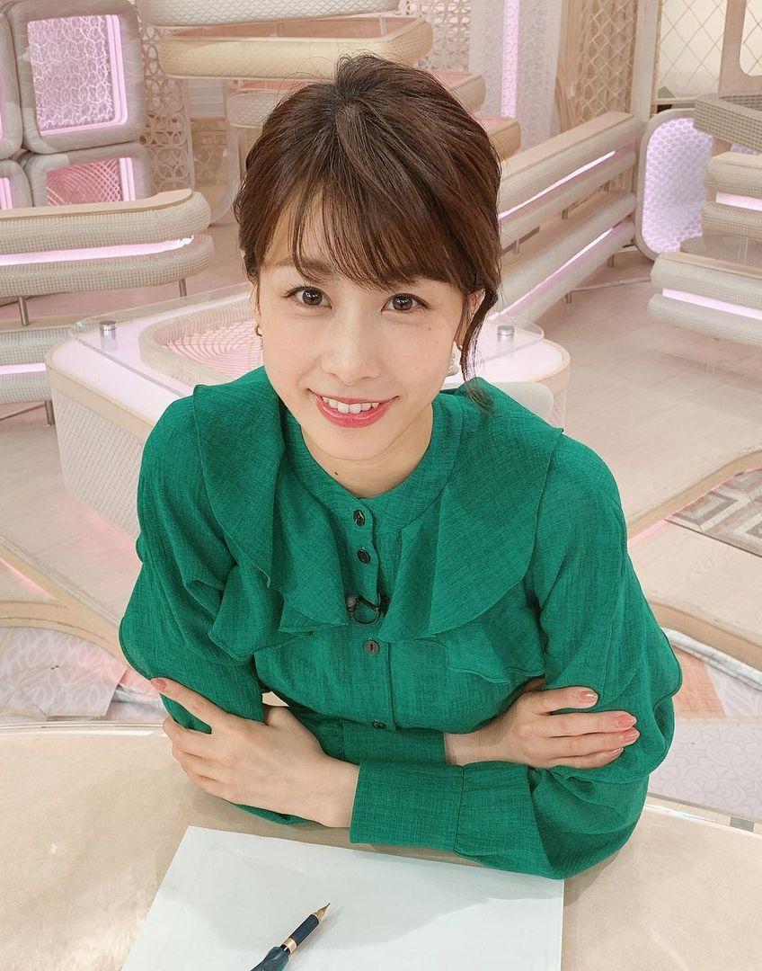 加藤綾子宣布結婚喜訊。 圖/擷自加藤綾子IG