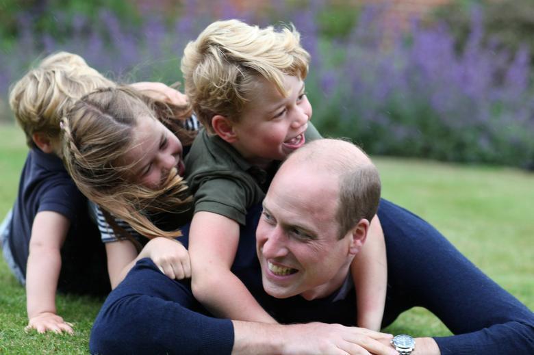 威廉的3個小孩出生時都比堂弟堂妹要重。圖/路透資料照片