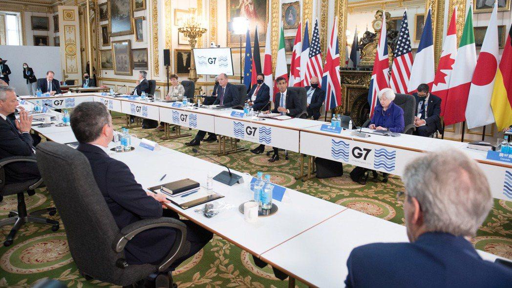 G7財長會議。路透