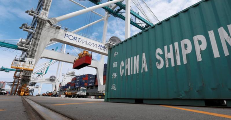 中國大陸5月出口及進口表現均低於預期。(路透社資料圖片)