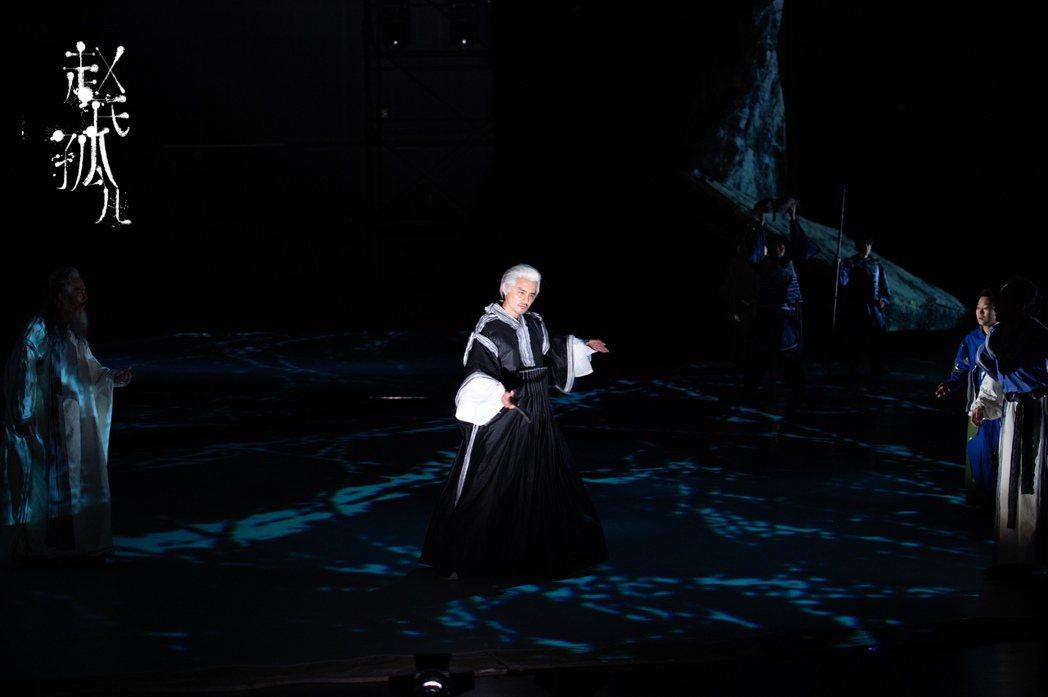 明道在音樂劇「趙氏孤兒」出演重要反派兇殘眼神震攝觀眾。圖/恆星影業提供