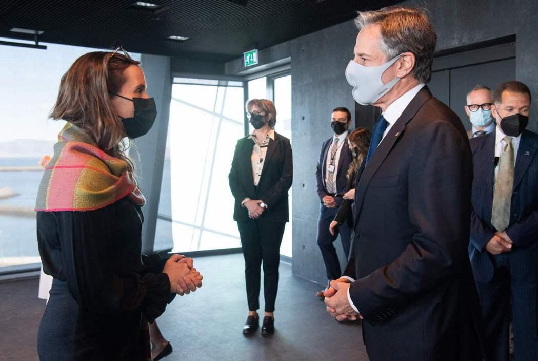 美國國務卿布林肯5月19日在冰島會晤俄羅斯外交部長拉夫羅夫,除了估量兩個敵對國家...