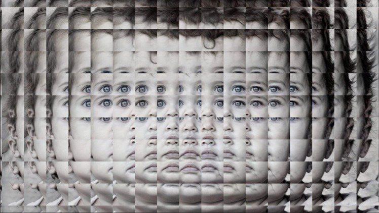 Mario Klingemann作品「Mitosis」,100美元起標。圖/蘇富...
