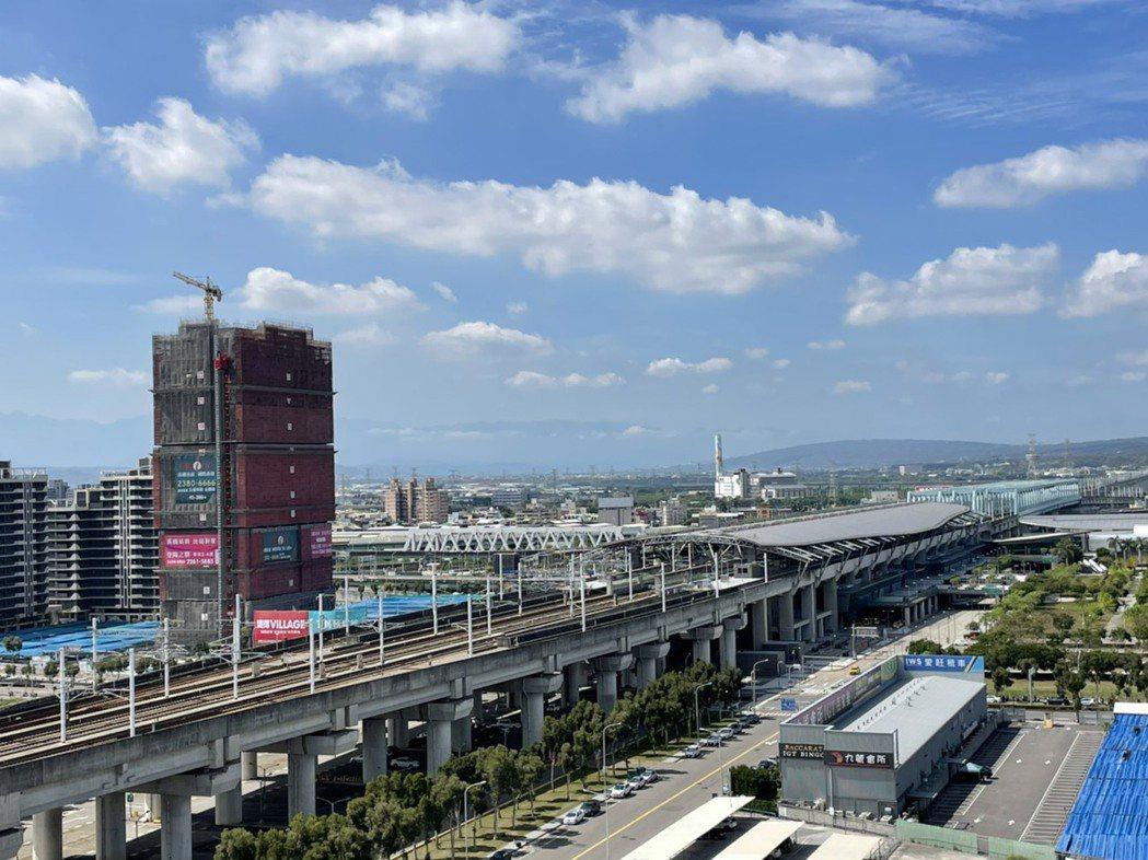 台中高鐵特區成為台中新商業中心的態勢已定。記者宋健生/攝影