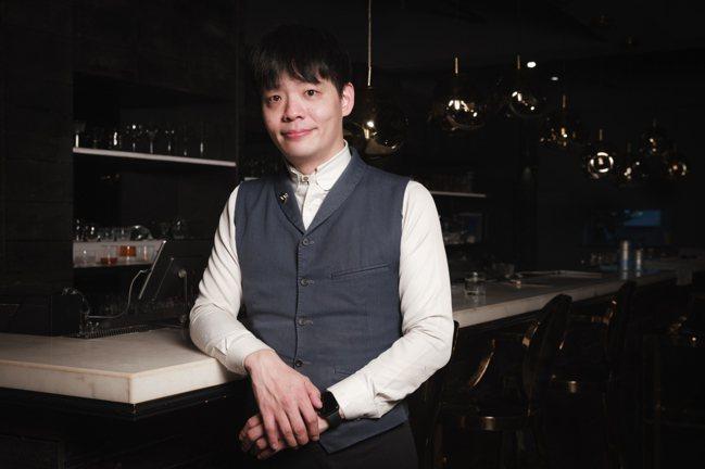 Bar PUN調酒師房石庭。記者沈昱嘉 / 攝影