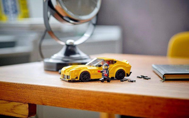 極速賽車Toyota GR Supra(76901)複製模型,高逾4公分、長逾1...