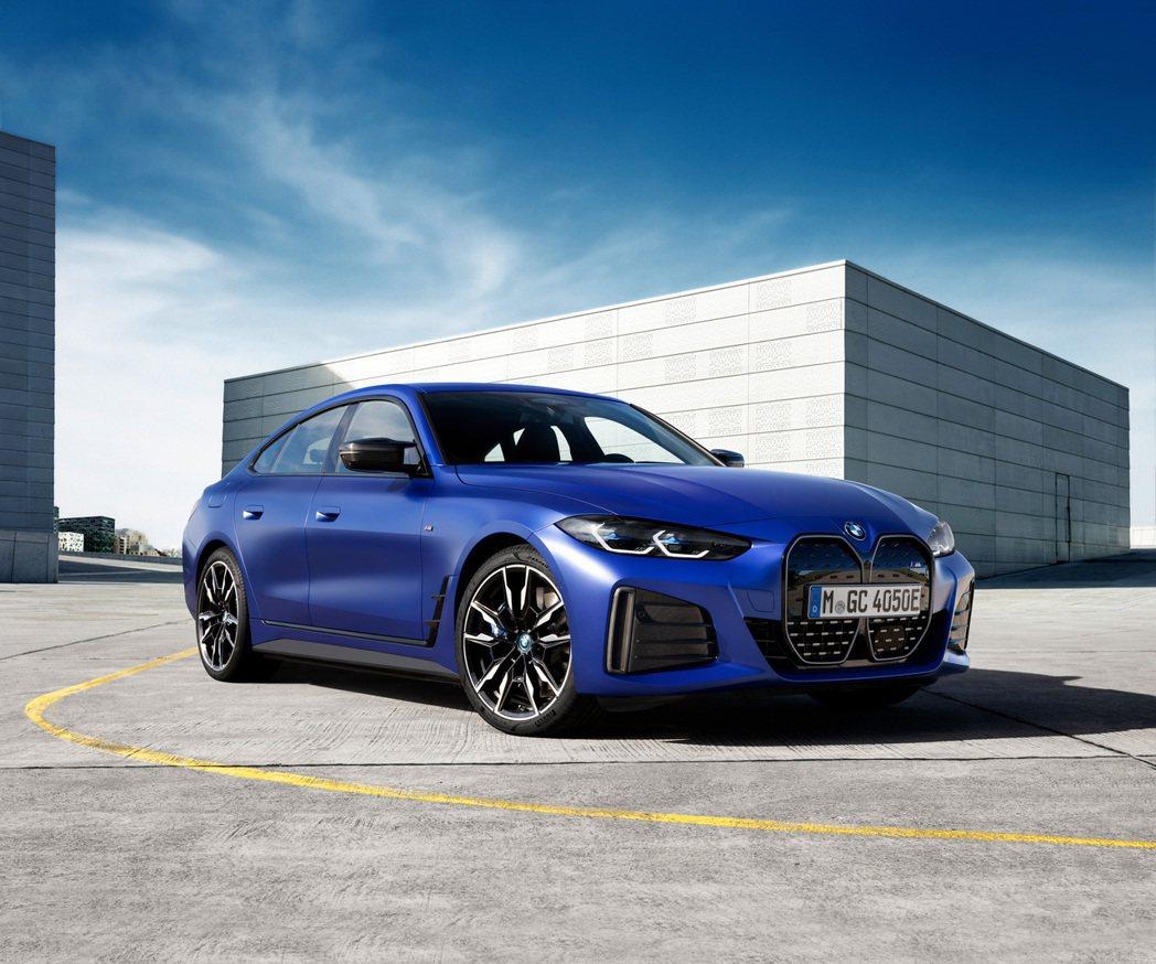 全新BMW i4 M50最大馬力可達到544hp/81kgm。 摘自BMW