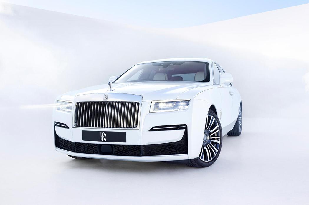 Rolls-Royce Ghost。 摘自CarBuzz.com