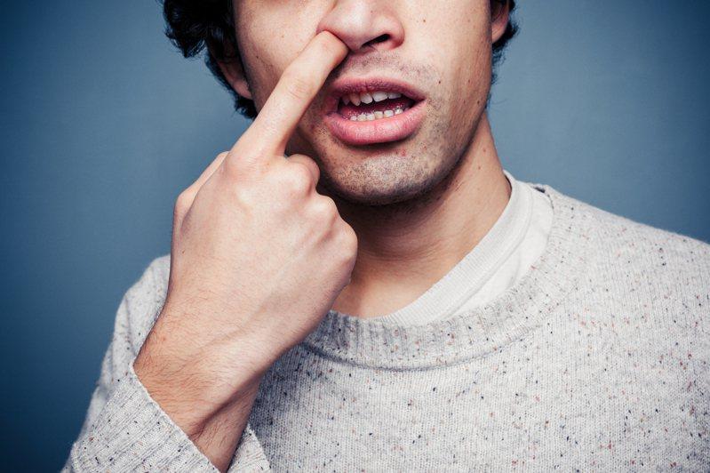 鼻屎含有害病原體。圖/取自:ingimage
