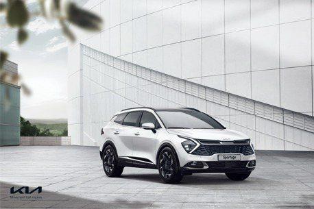 前衛、大膽、創新走進新世代 第五代Kia Sportage外觀、內裝搶先露面!