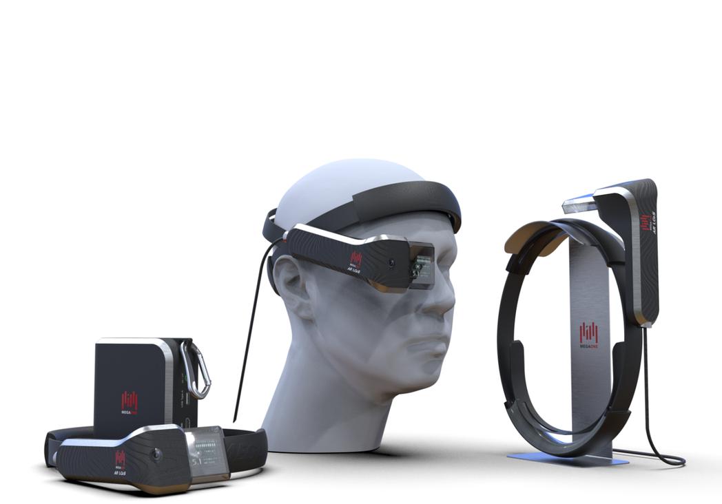 英錡科技LCoS AR成像模組已較市面產品大幅降低頭戴重量。 英錡科技/提供