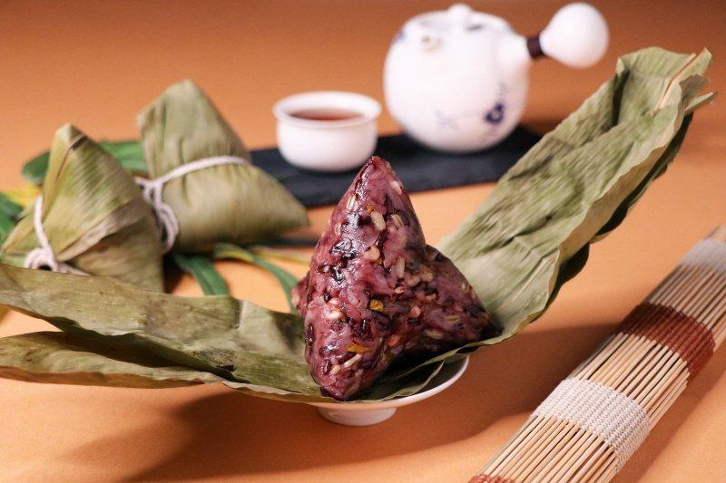「萬粽選麗」綠豆沙甜粽。 萬麗酒店/提供
