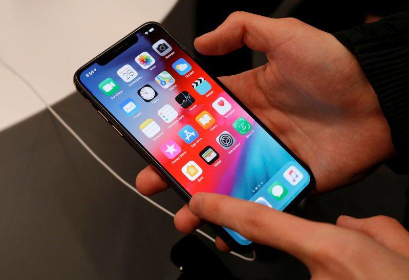 蘋果iPhone示意圖。路透