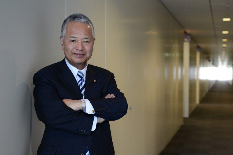 前經濟財政大臣、現任自民黨半導體策略工作小組負責人甘利明。彭博