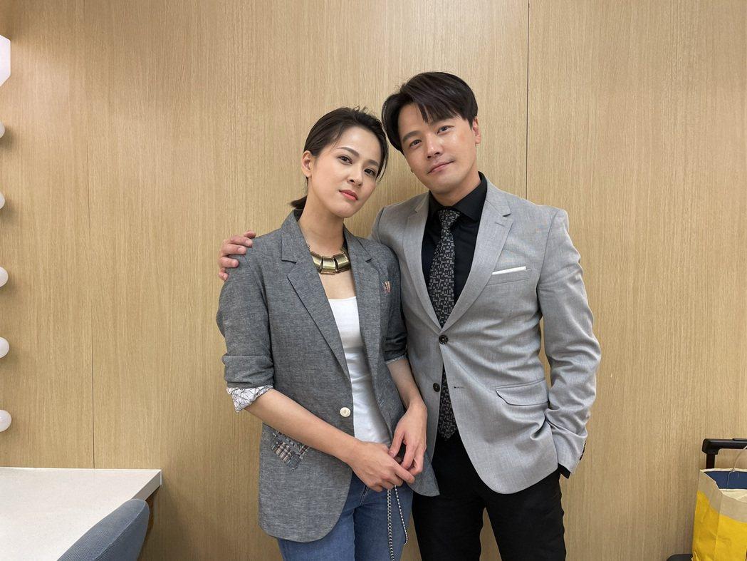 蘇晏霈(左)、黃文星近期在「多情城市」中的「大姐頭」與「小堯堯」組合,笑果十足。...