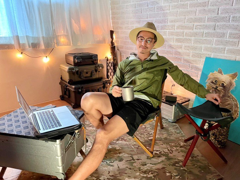 王少偉推出個人YT頻道「隔壁老王UncleSam」。圖/經紀公司提供