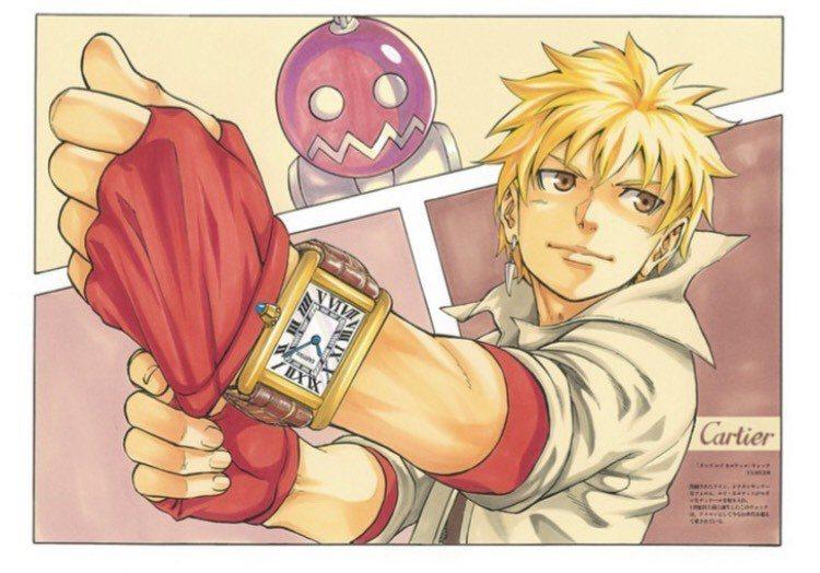 日劇「Oh!My Boss!戀愛放別冊」請漫畫家畫卡地亞經典的坦克手表。圖/取自...