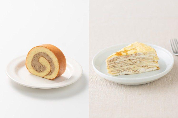 Café MUJI A11店有甜點可以外送到家。圖/Café MUJI提供