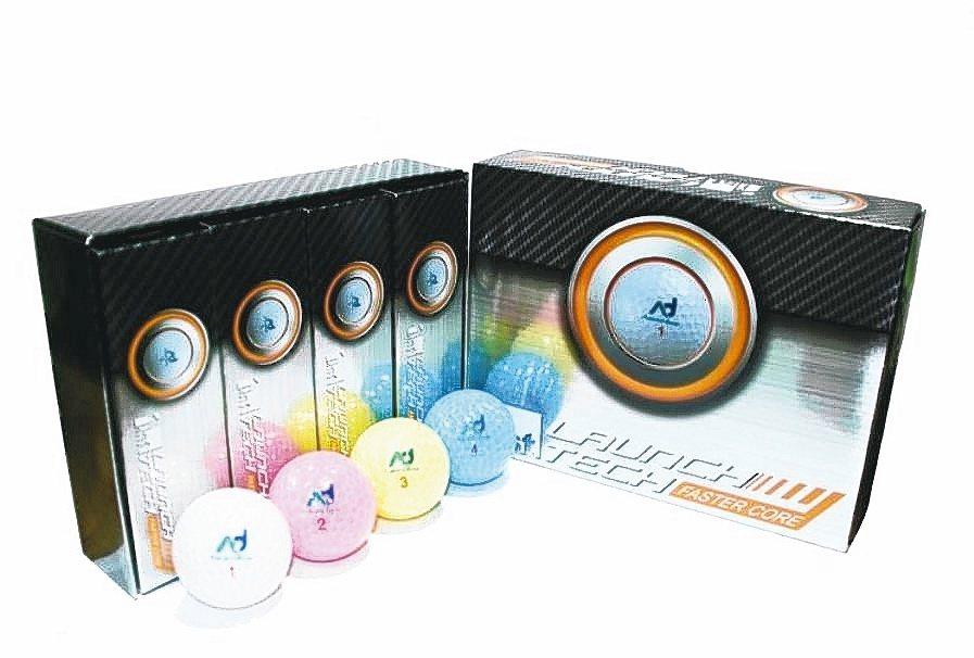 明揚生產的高爾夫球產品(本報系資料庫)