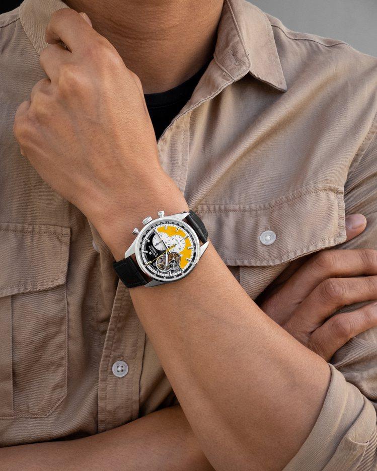 真力時Chronomaster Open Cohiba 55週年紀念版開芯腕表,...