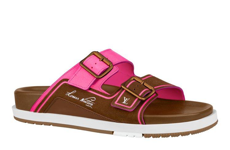 LV Trainer涼鞋,33,900元。圖/LV提供