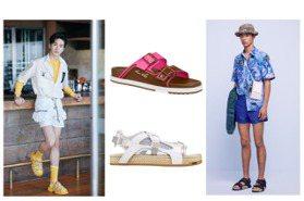 貴公子必備休閒單品 夏日運動涼鞋、拖鞋奢華版好潮