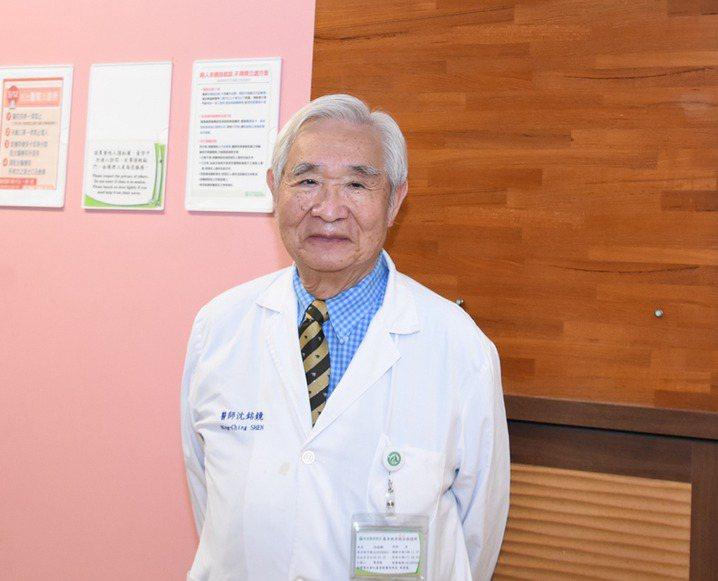 台灣血栓暨止血學會常務理事沈銘鏡醫師希望TTP病患納入罕病照顧。圖/沈銘鏡提供