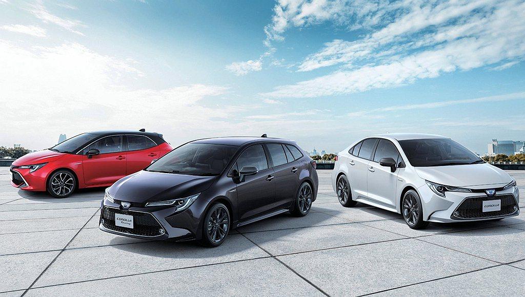 第四名還是由Toyota汽車獨佔為Corolla Sport(30.0km/L)...