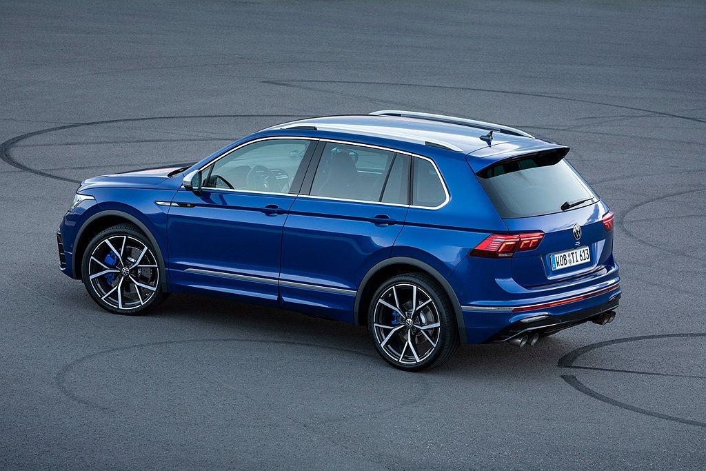 福斯Tiguan R由Volkswagen R性能部門開發,在「賽車」模式下4 ...