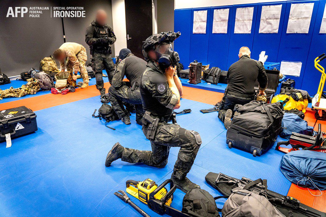 圖/Australian Federal Police/Handout via...