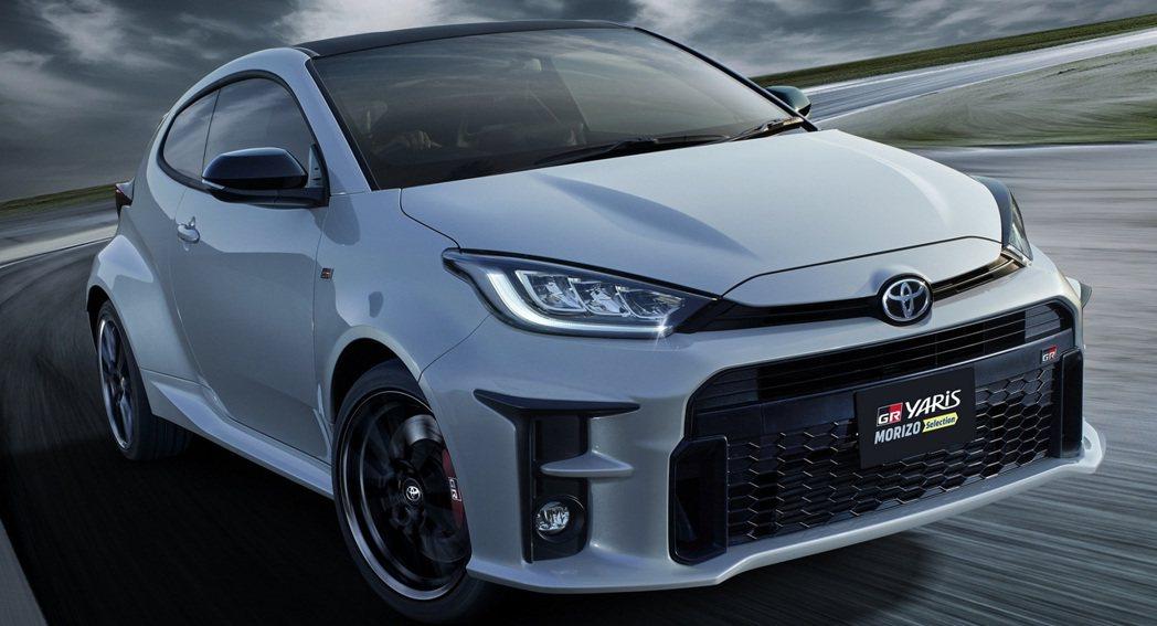 """Toyota GR Yaris """"Morizo Selection""""。 摘自To..."""