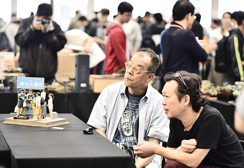鄭鴻展(右)和山田卓司(左) 。 圖/聯合數位文創 提供
