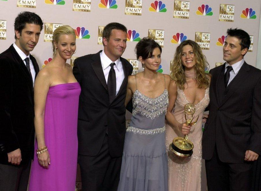 《六人行》風光奪下第54屆艾美獎「喜劇類最佳劇集獎」。 圖/美聯社
