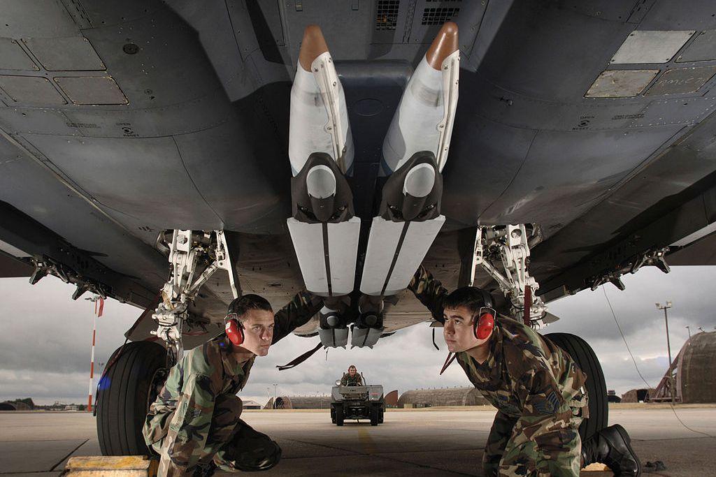 另外用於攻擊加薩地區建築目標的應是美製的GBU-39「小尺寸炸彈」(Small Diameter Bomb, SDB),以色列稱其為「鋒利冰雹」(Barad Had)。 圖/美國空軍