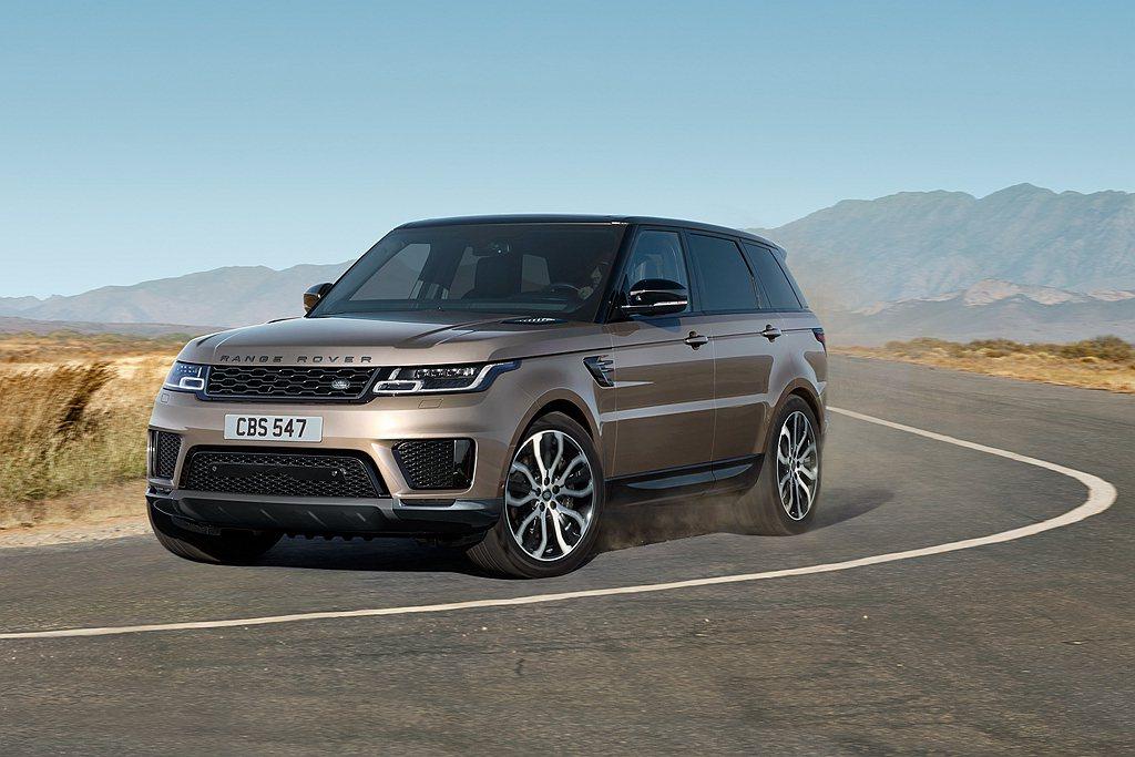 Land Rover旗下的Range Rover Sport。 圖/Land R...