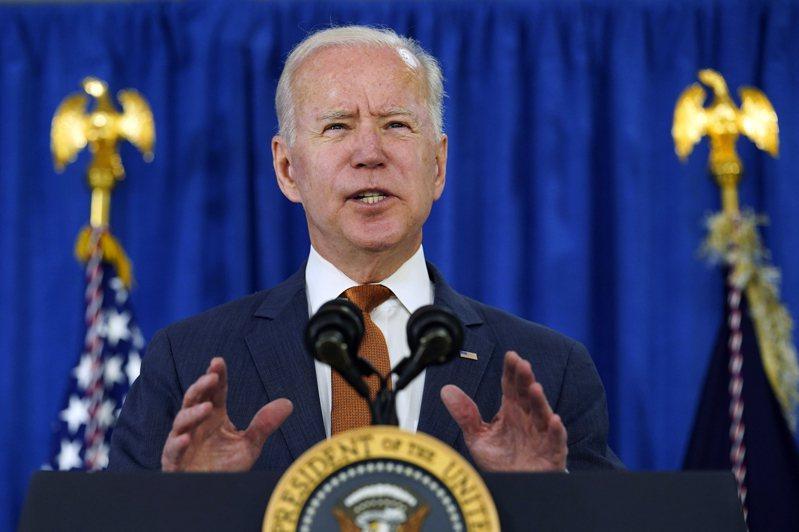 美國總統拜登與國會協商基建方案的過程並不順利。美聯社