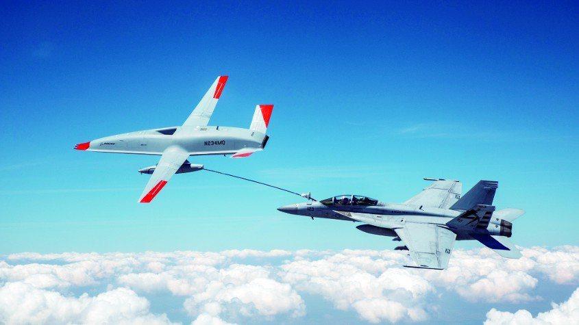 美首次完成無人機空中加油。環球網