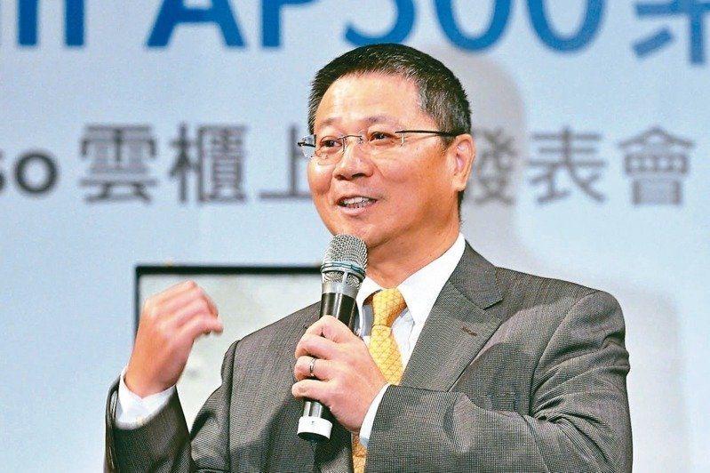 緯穎董事長林憲銘。報系資料照
