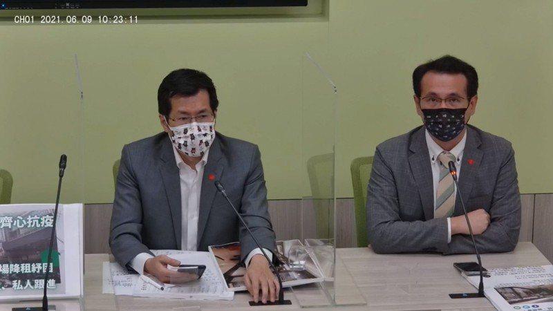 民進黨立委鄭運鵬。圖/翻攝自立法院民進黨團臉書直播